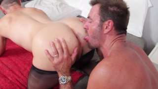 Streaming porn video still #8 from Nylon Daddies