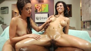 Streaming porn video still #6 from Oiled Up 2