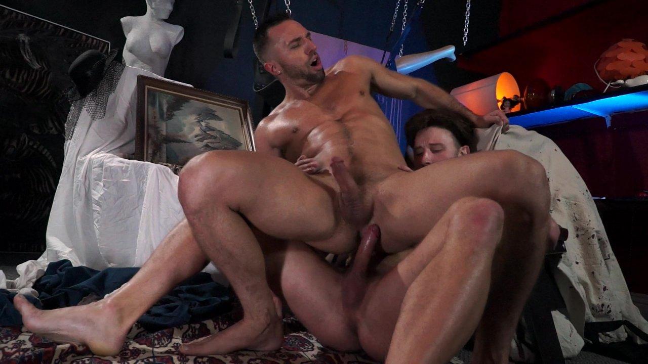 Barebackula Gay Porn Parody scared stiff 2: the amityville whore streaming video at