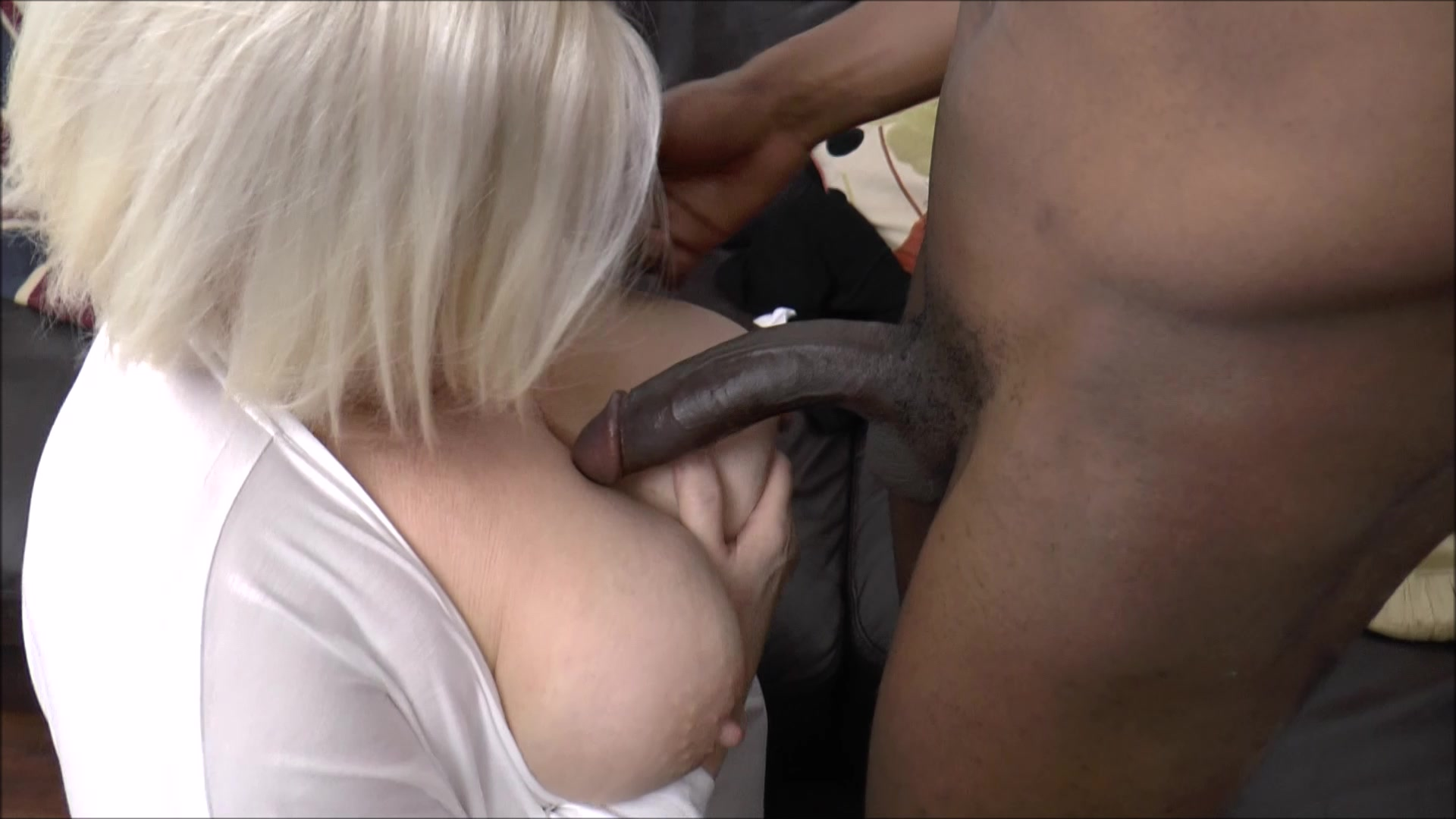 Slut loads interracial