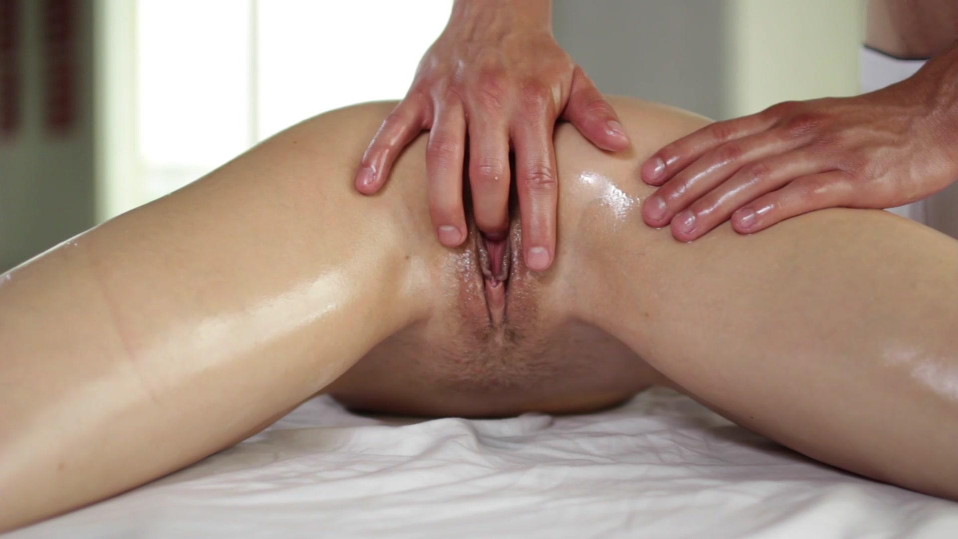 Массаж руками до оргазма — 14